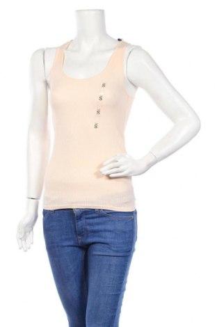 Γυναικείο αμάνικο μπλουζάκι Undiz, Μέγεθος S, Χρώμα Ρόζ , 60% βαμβάκι, 40% πολυεστέρας, Τιμή 4,19€