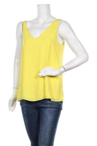 Γυναικείο αμάνικο μπλουζάκι Wallis, Μέγεθος M, Χρώμα Κίτρινο, 100% πολυεστέρας, Τιμή 7,54€