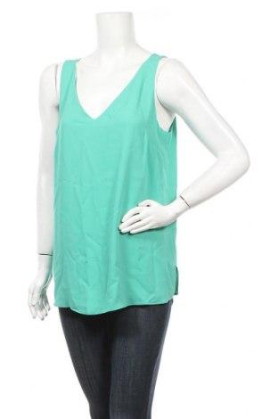 Γυναικείο αμάνικο μπλουζάκι Wallis, Μέγεθος L, Χρώμα Πράσινο, 100% πολυεστέρας, Τιμή 7,54€