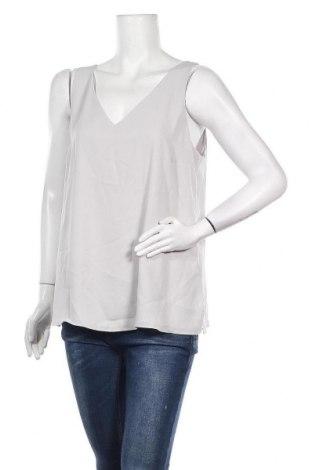 Γυναικείο αμάνικο μπλουζάκι Wallis, Μέγεθος L, Χρώμα Γκρί, 100% πολυεστέρας, Τιμή 7,54€