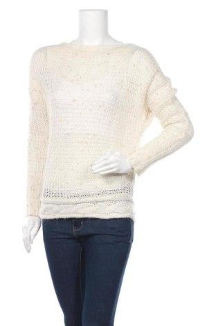 Дамски пуловер Simons, Размер S, Цвят Екрю, 42% акрил, 29% полиамид, 25% вълна, 4% полиестер, Цена 6,56лв.