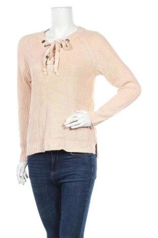 Дамски пуловер, Размер M, Цвят Розов, 100% акрил, Цена 9,98лв.
