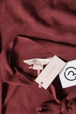 Дамски пуловер Mauvette, Размер M, Цвят Червен, 38% вискоза, 35% полиамид, 22% вълна, 5% вълна от алпака, Цена 39,00лв.