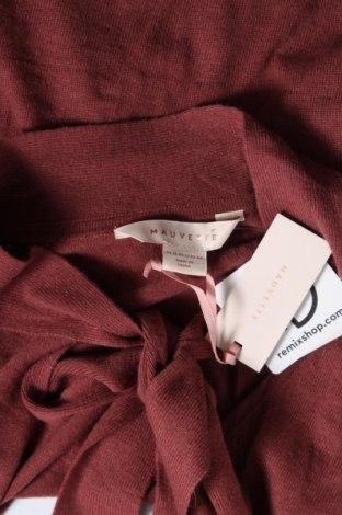 Дамски пуловер Mauvette, Размер XL, Цвят Червен, 38% вискоза, 35% полиамид, 22% вълна, 5% вълна от алпака, Цена 11,96лв.