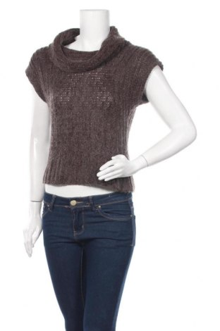 Дамски пуловер Affinites by Armand Thiery, Размер S, Цвят Кафяв, 70% акрил, 15% мохер, 15% вълна, Цена 4,73лв.