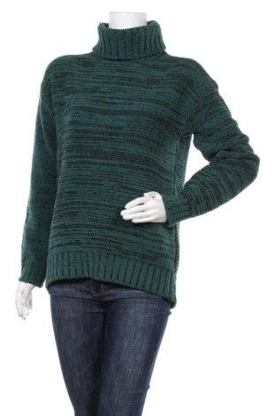 Дамски пуловер BCBG Max Azria, Размер XS, Цвят Зелен, 48% полиестер, 28% полиамид, 23% акрил, 1% вълна, Цена 29,82лв.