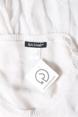 Дамски пуловер Balsamik, Размер L, Цвят Бял, Вискоза, Цена 11,96лв.
