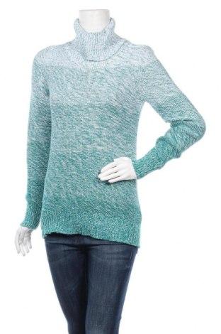Дамски пуловер Bpc Bonprix Collection, Размер M, Цвят Зелен, 50% памук, 50% акрил, Цена 21,95лв.