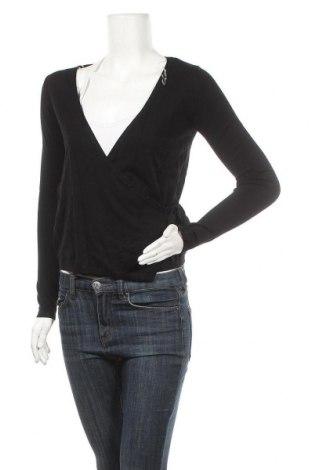 Дамски пуловер Cache Cache, Размер S, Цвят Черен, 80% вискоза, 20% полиамид, Цена 46,50лв.