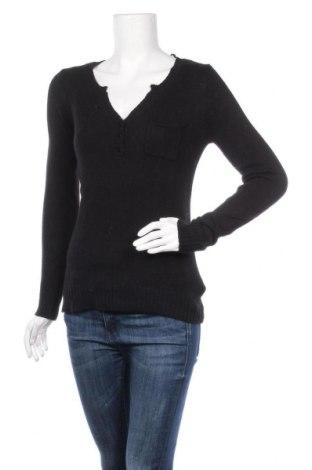 Дамски пуловер Camaieu, Размер S, Цвят Черен, 40% памук, 30% вискоза, 20% полиамид, 10% ангора, Цена 27,93лв.