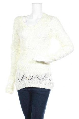 Дамски пуловер Charlotte Russe, Размер S, Цвят Бял, Акрил, Цена 6,83лв.