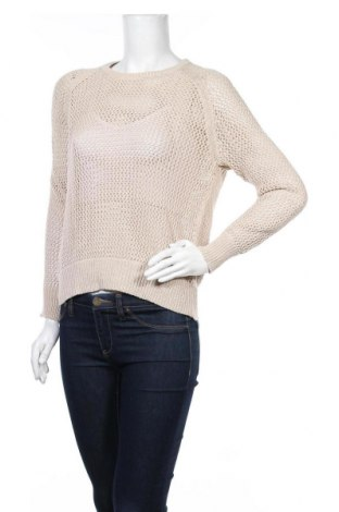 Дамски пуловер Country Road, Размер M, Цвят Бежов, Памук, Цена 13,16лв.
