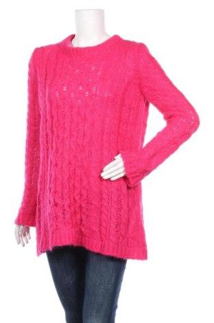 Γυναικείο πουλόβερ Dondup, Μέγεθος S, Χρώμα Ρόζ , 40% μοχαίρ, 37% πολυαμίδη, 18%ακρυλικό, 5% μαλλί, Τιμή 33,61€