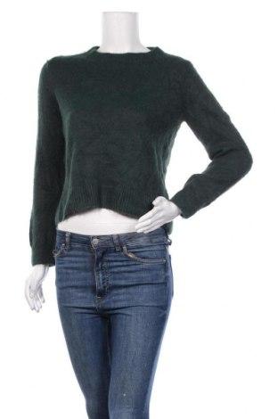 Дамски пуловер H&M, Размер XS, Цвят Зелен, 60% полиамид, 40% акрил, Цена 21,95лв.