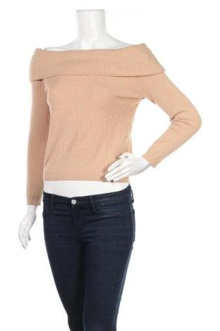 Дамски пуловер H&M, Размер M, Цвят Кафяв, 44% вискоза, 39% акрил, 17% полиамид, Цена 22,94лв.