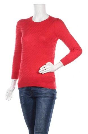 Дамски пуловер H&M, Размер M, Цвят Червен, 55% вискоза, 40% полиамид, 5% вълна, Цена 24,94лв.