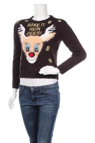 Дамски пуловер H&M Divided, Размер XS, Цвят Черен, Акрил, Цена 7,35лв.