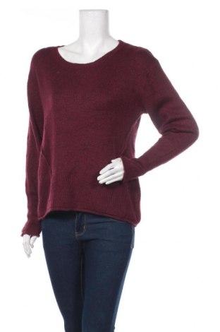Дамски пуловер H&M L.O.G.G., Размер L, Цвят Червен, 62% акрил, 29% полиамид, 8% вълна, 2% еластан, Цена 16,38лв.