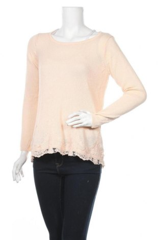 Дамски пуловер Janina, Размер M, Цвят Розов, Цена 6,62лв.