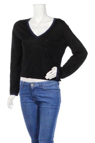 Дамски пуловер Kookai, Размер S, Цвят Черен, 34% вискоза, 33% лиосел, 33% акрил, Цена 51,75лв.