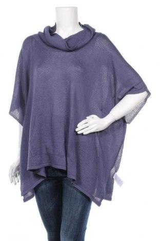 Дамски пуловер Laura Scott, Размер L, Цвят Син, 41% вискоза, 32% полиестер, 27% памук, Цена 11,34лв.