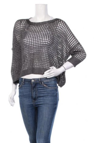 Дамски пуловер Laura Scott, Размер M, Цвят Сив, Цена 6,83лв.