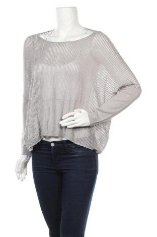 Дамски пуловер Lawrence Grey, Размер M, Цвят Сив, 55% лен, 45% памук, Цена 24,05лв.