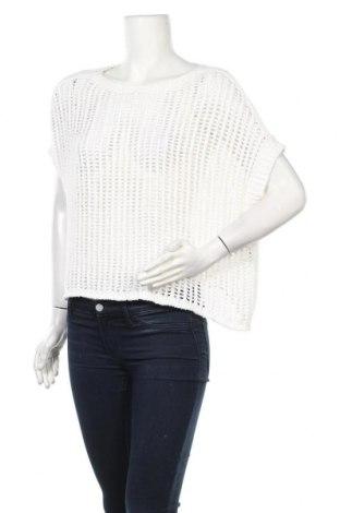 Дамски пуловер Luisa Cerano, Размер XL, Цвят Бял, 80% памук, 20% полиамид, Цена 12,48лв.