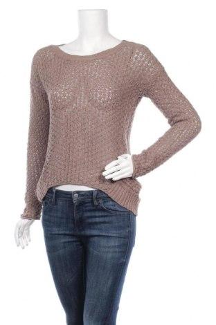 Дамски пуловер Mango, Размер S, Цвят Кафяв, Цена 22,94лв.