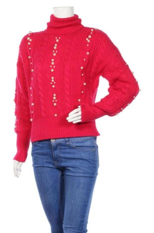 Γυναικείο πουλόβερ Marciano, Μέγεθος XS, Χρώμα Ρόζ , 45% βισκόζη, 40% πολυαμίδη, 10% μαλλί, 5% μαλλί από αλπακά, Τιμή 33,10€