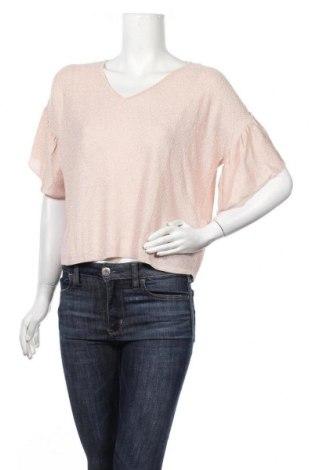 Γυναικείο πουλόβερ Naf Naf, Μέγεθος S, Χρώμα Ρόζ , 84% βισκόζη, 11% πολυεστέρας, 5% μεταλλικά νήματα, Τιμή 7,99€