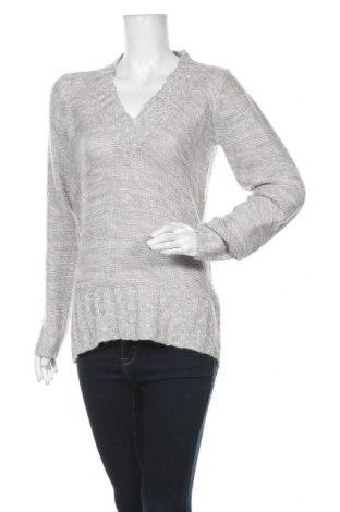 Дамски пуловер No Boundaries, Размер XL, Цвят Сив, 88% акрил, 8% полиамид, 4% други тъкани, Цена 24,10лв.