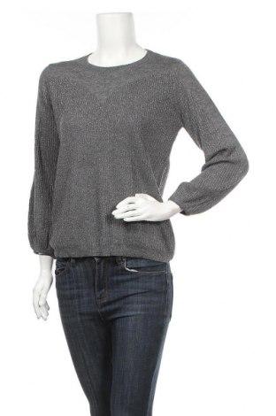 Γυναικείο πουλόβερ Nuna Lie, Μέγεθος S, Χρώμα Γκρί, 45% βισκόζη, 25% πολυεστέρας, 17% πολυαμίδη, 10% μεταλλικά νήματα, 3% μαλλί, Τιμή 11,69€