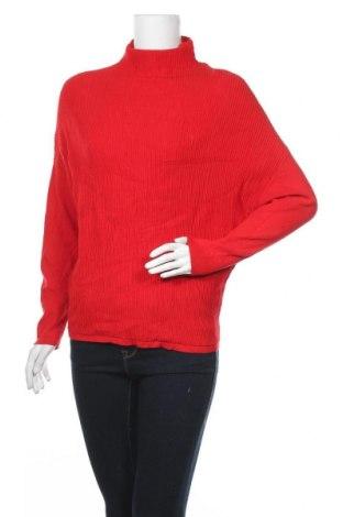 Дамски пуловер One More Story, Размер S, Цвят Червен, 80% вискоза, 20% полиамид, Цена 7,56лв.