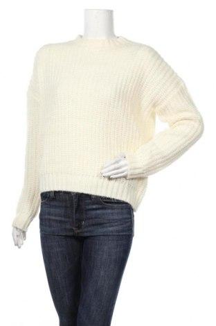 Γυναικείο πουλόβερ Pimkie, Μέγεθος M, Χρώμα Λευκό, 48%ακρυλικό, 28% πολυαμίδη, 15% μοχαίρ, 9% μαλλί, Τιμή 14,20€