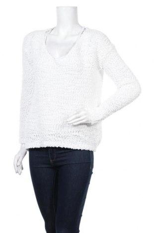 Γυναικείο πουλόβερ Rainbow, Μέγεθος L, Χρώμα Λευκό, 88% πολυεστέρας, 12% βαμβάκι, Τιμή 7,15€