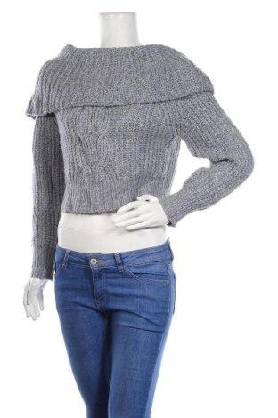 Дамски пуловер Snidel, Размер M, Цвят Син, 38% акрил, 30% вълна, 27% полиамид, 4% вълна от алпака, 1% други тъкани, Цена 51,45лв.