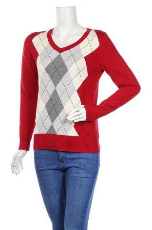 Дамски пуловер St. John's Bay, Размер S, Цвят Многоцветен, 97% памук, 3% други материали, Цена 7,09лв.