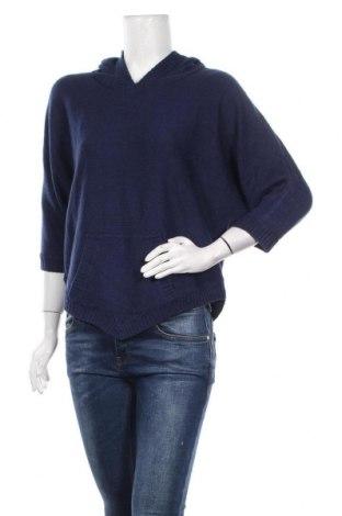 Дамски пуловер Super Star, Размер XS, Цвят Син, Акрил, Цена 27,93лв.