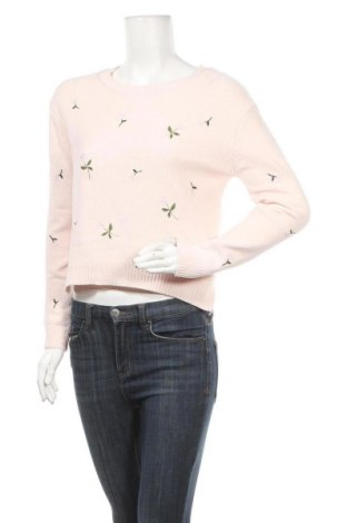 Дамски пуловер Tally Weijl, Размер S, Цвят Розов, Полиестер, Цена 15,70лв.