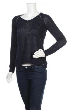 Γυναικείο πουλόβερ Timeout, Μέγεθος S, Χρώμα Μπλέ, 41% λινό, 34% βαμβάκι, 25% πολυαμίδη, Τιμή 13,51€