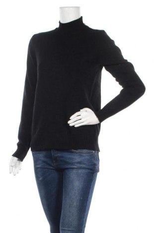Дамски пуловер Vila, Размер S, Цвят Черен, 50% вискоза, 27% полиамид, 23% полиестер, Цена 51,87лв.