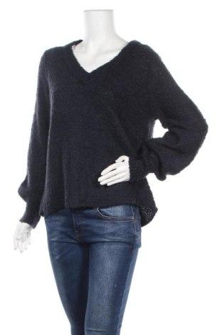 Γυναικείο πουλόβερ Vrs Woman, Μέγεθος M, Χρώμα Μπλέ, 85%ακρυλικό, 15% μαλλί, Τιμή 16,96€