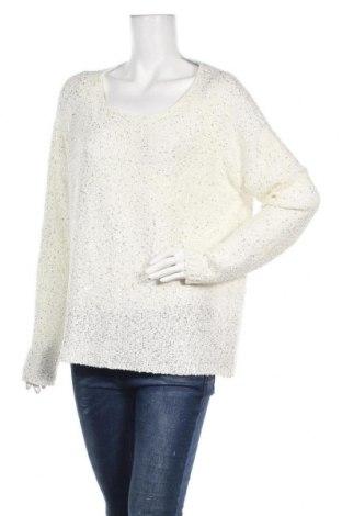 Дамски пуловер Vrs Woman, Размер XL, Цвят Бял, 50% полиестер, 40% акрил, 10% полиамид, Цена 25,94лв.
