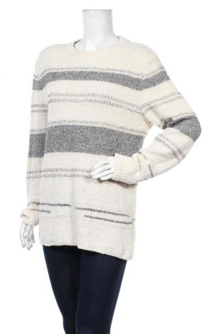 Дамски пуловер Zara, Размер M, Цвят Екрю, 82% полиуретан, 14% полиамид, 4% полиестер, Цена 36,75лв.