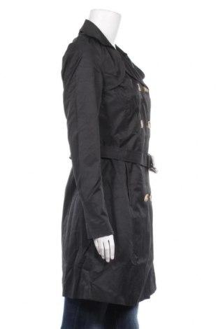Дамски шлифер Balsamik, Размер S, Цвят Черен, 61% памук, 39% полиестер, Цена 23,76лв.