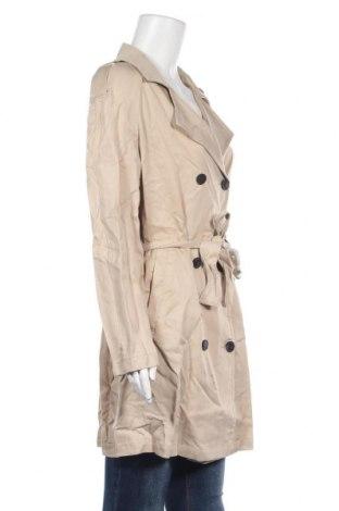 Дамски шлифер Balsamik, Размер L, Цвят Бежов, Лиосел, Цена 16,56лв.