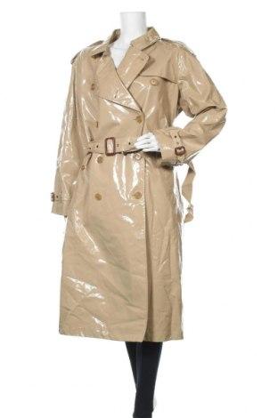 Дамски шлифер Burberry, Размер XL, Цвят Бежов, Памук, Цена 1124,25лв.