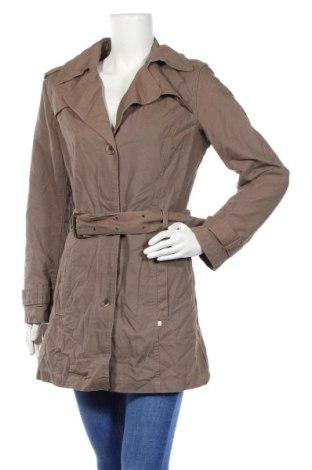 Дамски шлифер Cheer, Размер M, Цвят Кафяв, Памук, Цена 12,86лв.
