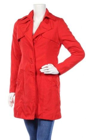 Дамски шлифер Isaac Mizrahi, Размер S, Цвят Червен, Полиестер, Цена 27,20лв.